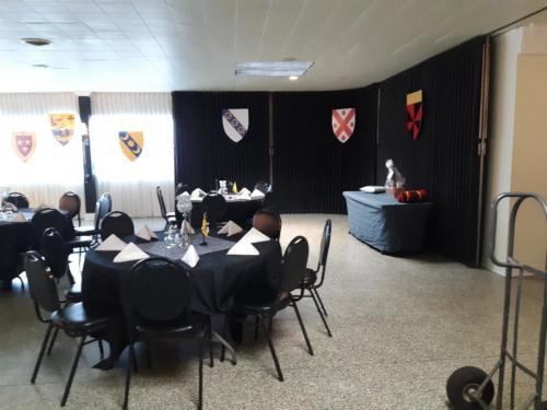 Hall setup 4