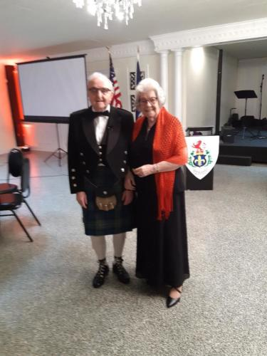 Jim and Jean Hughes